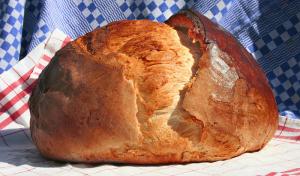 Házi kemencés kenyér