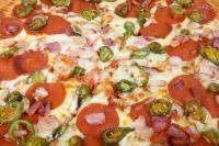 Kemencében sült pizza